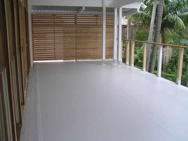 Balcony & Terraced Areas Waterproofing