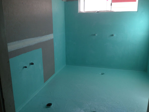 waterproofing bathroom tile coast waterproofing bathrooms and areas 15027